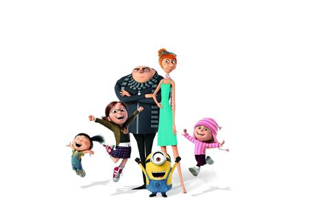 Despicable Me 3 Gru Lucy Margo Agnes Edith Minions 2017